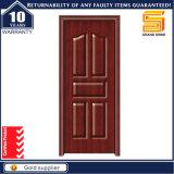 Porte en bois intérieure de stratifié de plastique de PVC