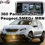 Relação da vista traseira & do panorama 360 para Peugeot 208 308 508 2008 com a tela do molde da entrada de sinal do sistema Lvds RGB de Smeg+ Mrn