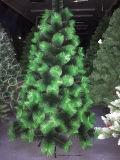 Albero artificiale delle decorazioni di natale con doppio colore
