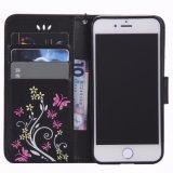 Раковины шлица владельца карточки Flip Folio бумажника PU iPhone/Samsung аргументы за задней стороны обложки кожаный защитной магнитные тонкие