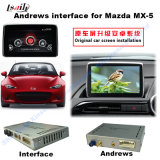 Androïde GPS Navigation Video Interface voor Mazda mx-5 (systeem MZD)