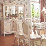 Hölzerner Tisch-und speisen Stuhl für Esszimmer-Möbel (H8118)