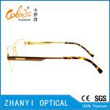 Qualität Halb-Randlose TitanEyewear Brille-Glas-optischer Rahmen (8404)
