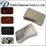 Pedra abrasiva de corte de serra de diamante lâmina de corte Segmento
