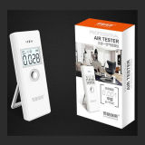 Producto Hcho de la salud y supervisión de aire de interior del detector Pm2.5 Bluetooth elegante