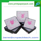 Aduana dos pedazos del rectángulo de empaquetado de regalo del rectángulo del maquillaje de papel del cuidado personal