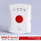 GSMのセリウムFCC RoHSの証明書が付いている無線家の非常ボタンの緊急の年配の警報システム
