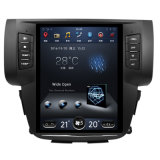 Het Systeem van Andriod GPS van de Auto van het Scherm van 10 Duim Verticale Reusachtige Navigatie voor Nissan Sylphy met BT Aux in USB 3G