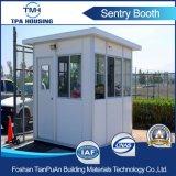 Stahlkonstruktion-bewegliches Sicherheitsbeamte-Haus für Verkauf