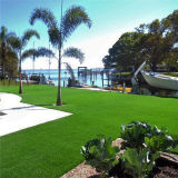 Grama artificial da paisagem Anti-UV para o jardim para a decoração