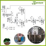 Machine supercritique d'extraction de CO2 de pétrole de machine d'extraction de l'huile de chanvre