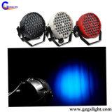 Nuovo indicatore luminoso di plastica di PARITÀ di RGBW 54PCS/12PCS*1W LED