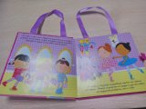 Niños interesantes Shaped del bolso caliente de la venta que aprenden el libro de la tarjeta