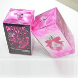 Los cosméticos colorean el rectángulo de empaquetado para el perfume, máscara, conjunto del cuidado de piel