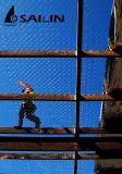 Lapin de Sailin prenant une maille plus fine pour la protection bloquée
