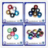 Rondelle en aluminium anodisée personnalisée (DKL-1303301)