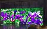 Parede ao ar livre de alta resolução do vídeo do diodo emissor de luz da cor cheia de SMD3535 P8