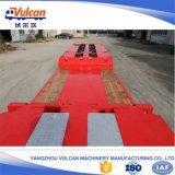 Rimorchio basso modulare idraulico resistente del camion della base