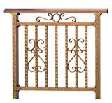 Modèle décoratif de pêche à la traîne de balcon d'acier inoxydable