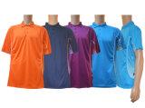Chemise de polo de Sumblimation de polyester d'hommes