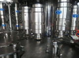 Máquina de rellenar del acero inoxidable 304 del agua funcionando durable de la bebida