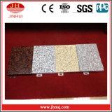 PVDF che ricopre l'impiallacciatura di alluminio di colore solido per la parete divisoria
