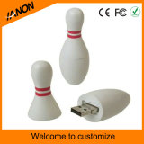 Mecanismo impulsor del flash del USB de la bola con su diseño