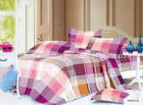 De kleurrijke Textiel van het Beddegoed van het Blad van het Bed van Microfiber van het Patroon van de Bloem Duidelijke Geverfte Goedkope Vastgestelde Vastgestelde naar huis