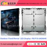 Het openlucht P10 LEIDENE VideoTeken Wall/LED van Display/LED