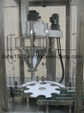 Tipo rotatorio automático máquina de rellenar medidora de los tarros del polvo del café
