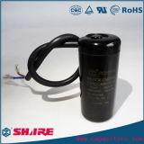 Shell de aluminio de la baquelita del condensador electrolítico del condensador de comienzo del comienzo CD60