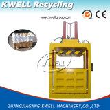 Professionelle vertikale hydraulische Ballenpreßpresse-Maschine für rohe Wollen/Ballenpresse für Wollen