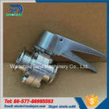 2inch valvole a farfalla di pressione manuali dell'acciaio inossidabile Ss304 tri