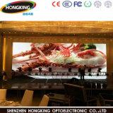 P3舞台の背景、会議、イベント(SMD2121黒いLEDのパネル)のための屋内HDの適用範囲が広い表示画面LED