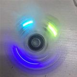 Transparant met Drie Lichten van de Knoop friemel Spinner