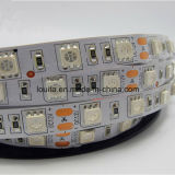 60LEDs / M impermeable DC12V Lamber flexible 5050 LED impermeable