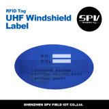 De Breekbare UHFMarkering Vreemde H3 ISO18000-6c van het Windscherm RFID