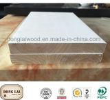Изготовленный на заказ склеенный краем Paneling панели стены Fj деревянный
