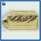ヘアドライヤのための金擬似革PVC装飾的な袋