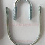 Acero inoxidable T - Perno de abrazadera de tubo / U Perno de soporte de abrazadera
