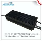 excitador atual de 480With720W 24~58.8V/constante constante programável ao ar livre do diodo emissor de luz da tensão
