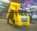 Vaciado de HOWO/HOHAN 6X4/carro de volquete con Cimc la carrocería del cargo de Huajun