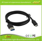 USB schreiben C bewegliche Ladung einziehbares Kabel