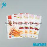 Bolso de vacío plástico impreso aduana del envasado de alimentos del sellado caliente