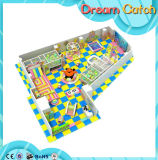 Cour de jeu d'intérieur de château gonflable de cavalier Bouner gonflable pour le jeu de gosses