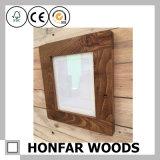 """frame de madeira quadrado do frame de retrato de 6 """" X6 """" Brown único"""
