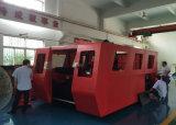 Máquina de estaca do laser da fibra do aço inoxidável de aço de carbono da velocidade rápida