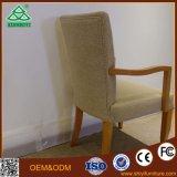 Otel Gewebe und Soild Holz, das Stuhl speisend verbiegt