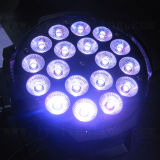 Color de interior 18X18W RGBWA PAR LED UV