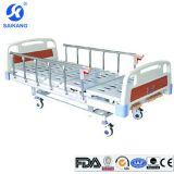 Sk014 병원 가구가 수동 침대 3 기능에 의하여 크랭크를 부착한다